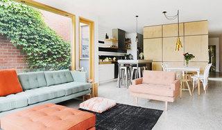 现代简约风格公寓100平米效果图