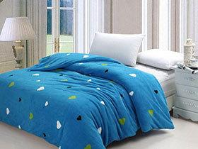 沐浴蓝色海洋风 14款蓝色床品推荐