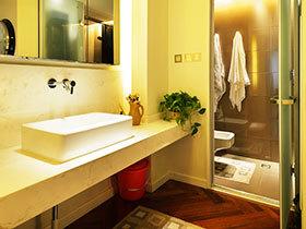 狭长卫生间设计 12图精巧布置方案