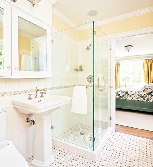 卧室卫生间开放式设计_齐家网装修效果图图片