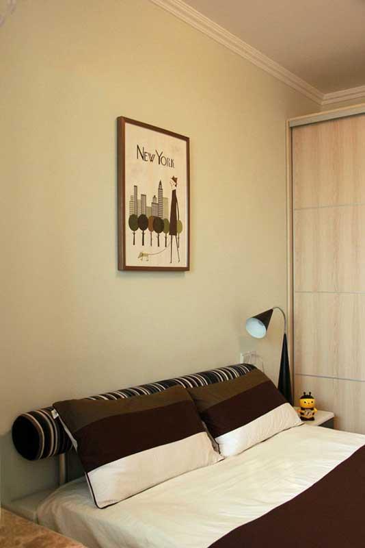 简约风格三居室温馨130平米装修效果图