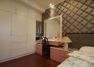 混搭风格三居室140平米以上旧房改造家装图