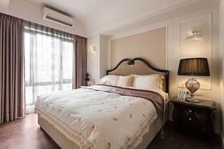 新古典清新卧室设计效果图
