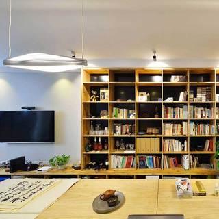 现代简约风格二居室100平米效果图