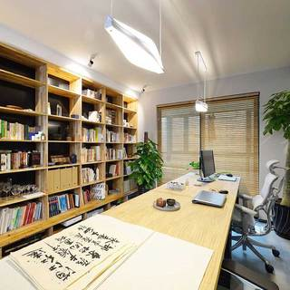 现代简约风格二居室100平米装修效果图