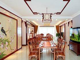 10款餐厅背景墙 装点创意新中式
