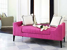 迷人优雅 13个枚红色客厅沙发