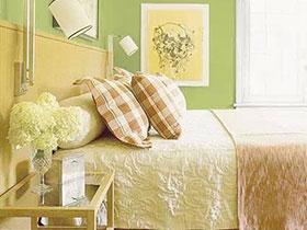 家居清新吧 11个小清新绿色卧室设计