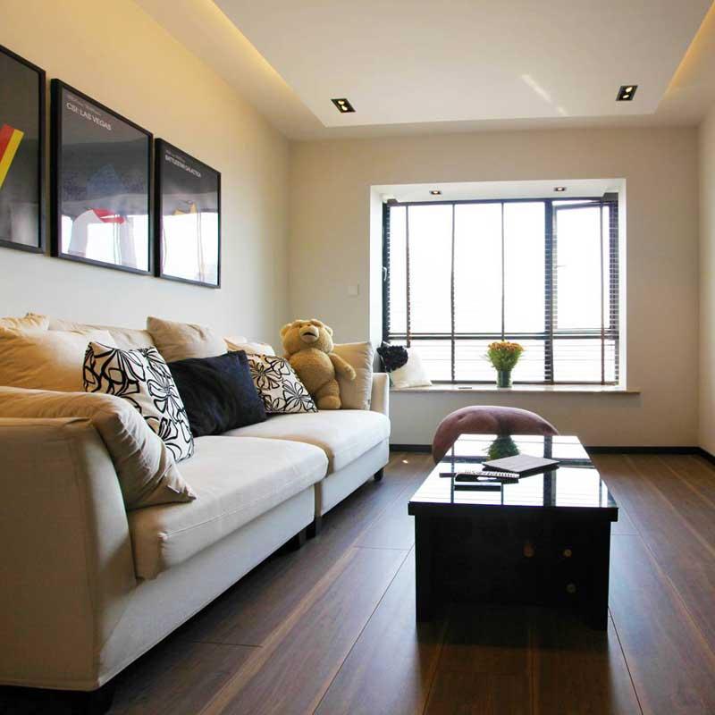 现代清新客厅沙发设计图片