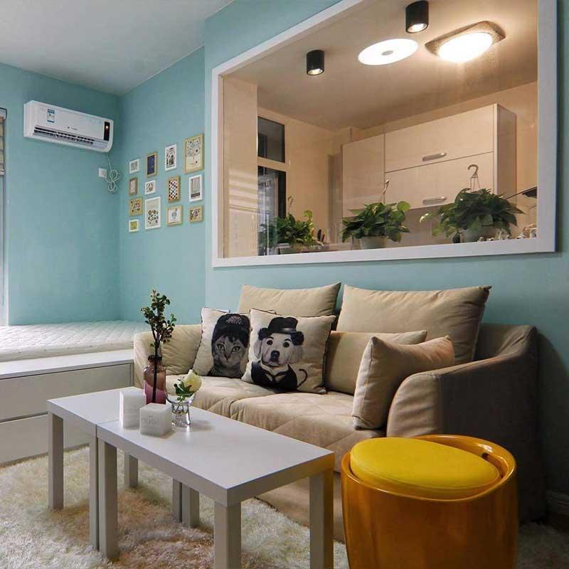 简约客厅沙发设计效果图