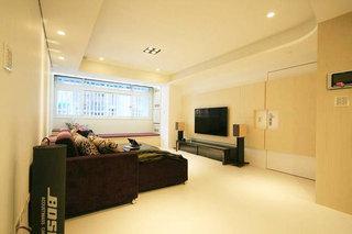 现代简约风格三居室时尚90平米效果图