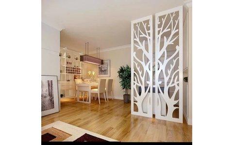 5-10万90平米简约二居室装修效果图,互帮互家装装修图图片