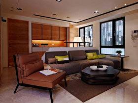 舒适放松空间 80平现代简约一居