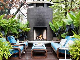 大户型露台设计 11图绿植摆放方案