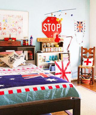 英伦风格卧室设计