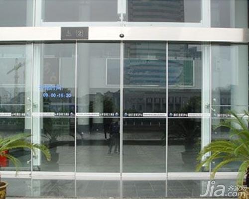 自动玻璃门工作原理 自动玻璃门价格