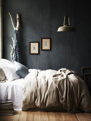 黑色卧室空间