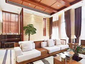 回归自然 13个东南亚风情客厅设计