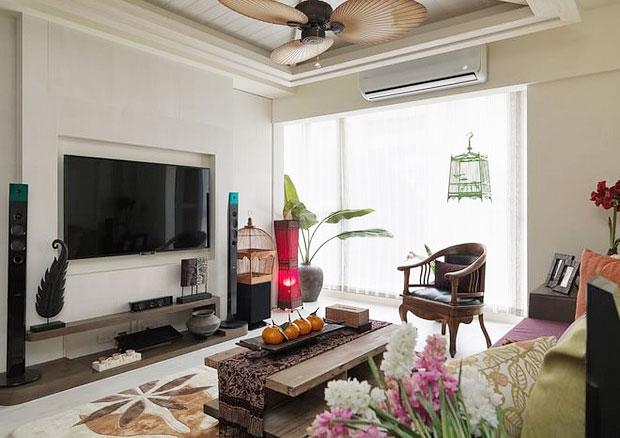 异域东南亚风情客厅设计