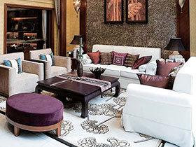 感受自然温馨 14个东南亚风情客厅设计