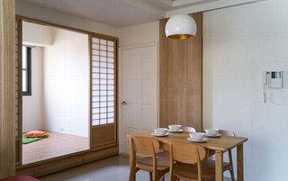 日式风格二居室温馨70平米设计图纸