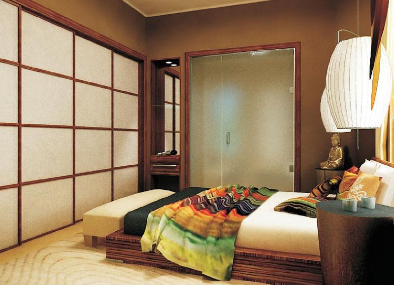日式风格,卧室,古典图片