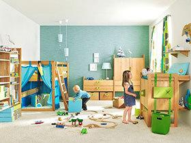 13个活力儿童房 打造家中的主题乐园