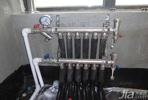 日丰地暖分水器安装流程