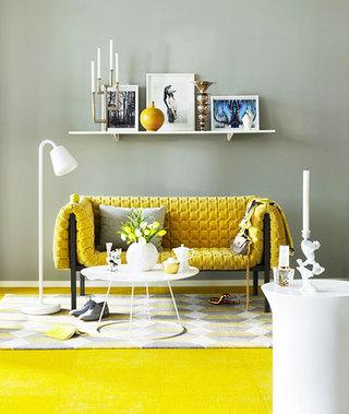 黄色+灰色