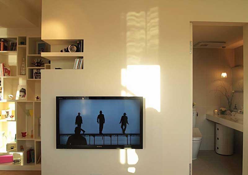 北欧风格一居室50平米装修效果图