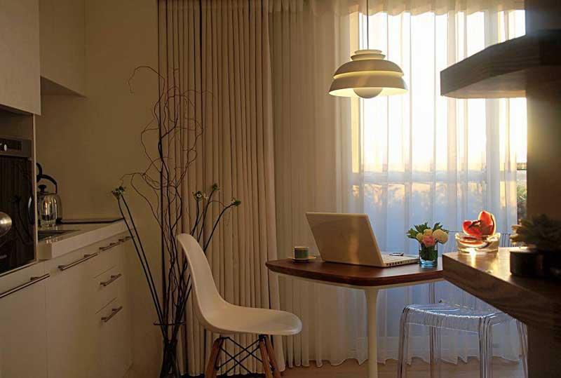 北欧风格一居室50平米装修图片