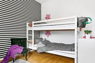 北欧清新上下床设计图片