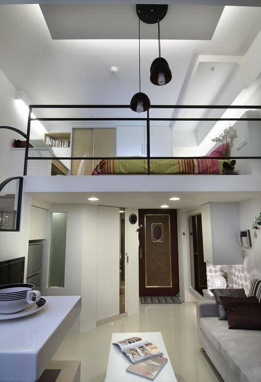 现代简约风格一居室旧房改造平面图