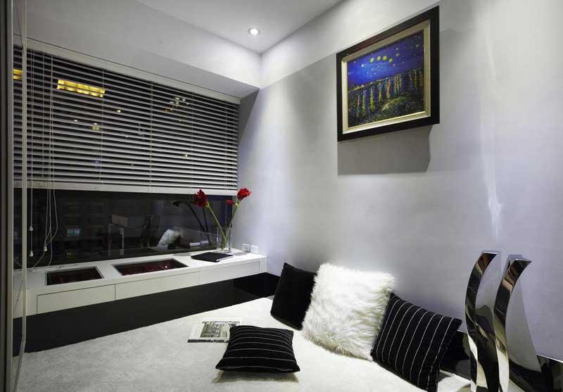 简约风格一居室90平米效果图