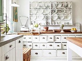 北欧田园风厨房设计 甜美可爱的烹饪空间