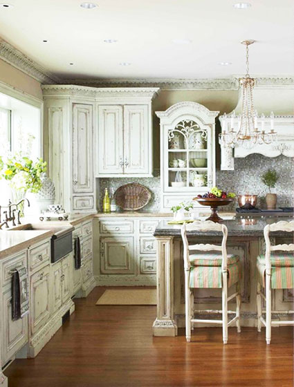 大气可爱风格厨房