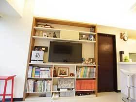 中性色简约风 收纳空间超大的两居室