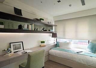 欧式风格三居室110平米装修效果图