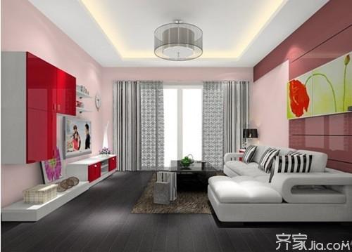 90平米房屋装修案例 装出不一样的效果高清图片