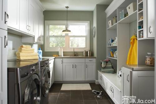 家庭洗衣房的布置效果 家庭洗衣房装修设计