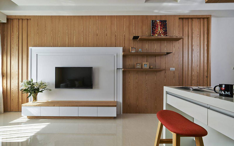 日式电视背景墙设计效果图