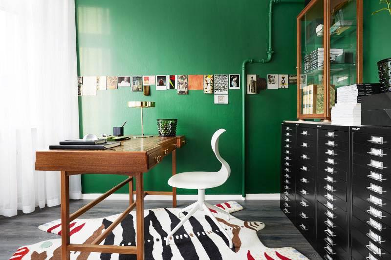 绿色书房设计