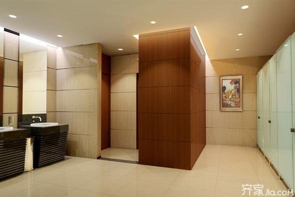 公共卫生间蹲位门尺寸