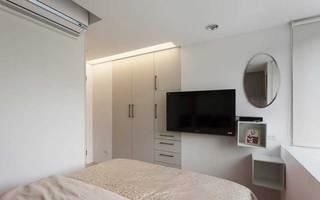 欧式风格一居室60平米装修效果图