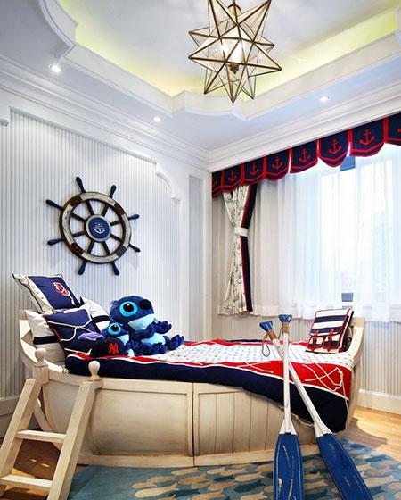 清新地中海风情卧室设计