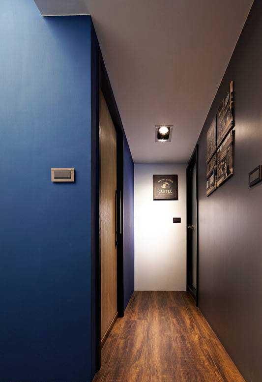 现代简约风格三居室80平米效果图
