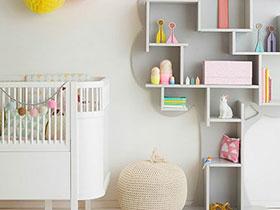 公主從小做起 13個女寶寶嬰兒房設計