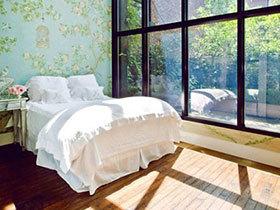 美景定格 13个浪漫卧室落地窗设计