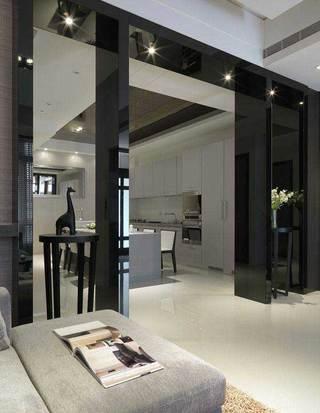 现代简约风格三居室装修图片