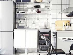 小户型厨房设计 11款简约风格推荐